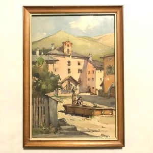 Original Watercolor - Framed